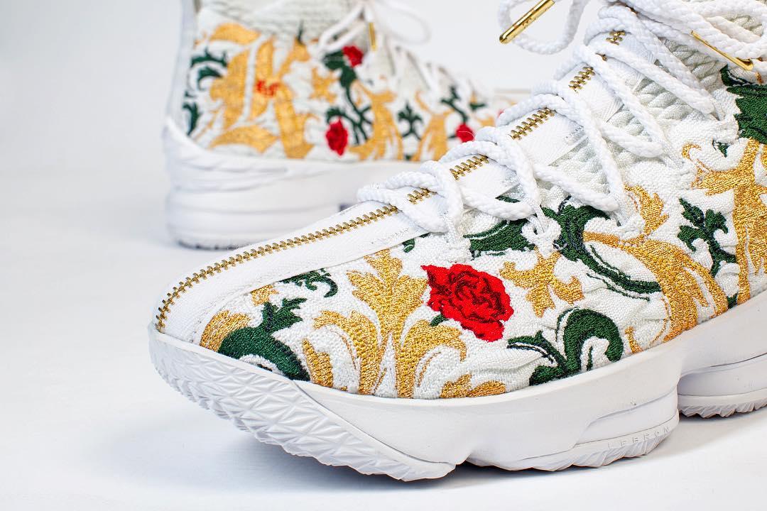 best sneakers 82932 bf913 Cận cảnh Nike LeBron 15