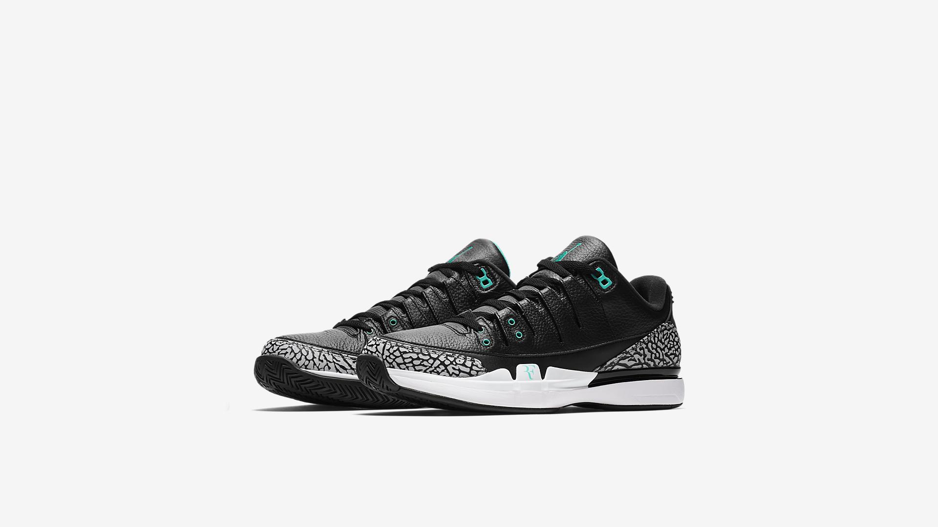release date: 78ea7 57624 Hình ảnh chính thức của Nike Court Zoom Vapor RF x Air ...